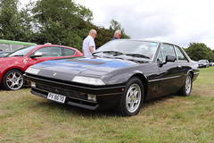 Ferrari 412 PV8670 (Andrew 2.8i) Tags: festival unexceptional buckinghamshire middle claydon meet show coche voitures voiture autos auto cars italian exotic saloon sedan sports sportscar gt tourer grand 412 412i ferrari pv8670