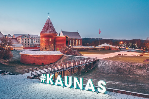 Kaunas Castle | Aerial