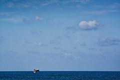 Tel Aviv Jaffa (Hemo Kerem) Tags: israel telaviv street a7rm2 a7rii nikon200mmf4ai nikkor200mmf4ai ai200mmf4 ai4200 tlv 200mm manualfocus mf nikon nikkor sony sonya7rm2 ilce7rm2 alpha jaffa telavivjaffa jaffaport jaffaoldcity beach seascape sea water sky blue clouds