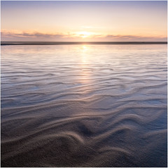 The sea is an artist (Rob Schop) Tags: maasvlakte bracket hdr sunset texture patterns tide sea seascape wideangle samyang12mmf20 pola hoyaprofilters f11 squarecrop 11 softlight orton zuidholland sonya6000 beach reflection