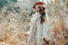 White Queen (Andreas-Joachim Lins Photography) Tags: andreasjoachimlins ancient batis28135 berggarten carlzeiss e fantasy fashion female frozen girl hannover jumerianox outdoor people portrait woman young zeiss