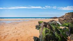 la plage de Bellangenêt au Pouldu (.Sophie C.) Tags: cloharscarnoët lepouldu 29 finistère bretagne breizh littoral mer côte plage sable plagedebellangenêt