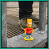 Geocaching Find: Bart Simpson (20/10/2019, Breskens, The Netherlands) (hd_lego) Tags: gc5h7h2 toys breskens thesimpsons bartsimpson geocaching geocache