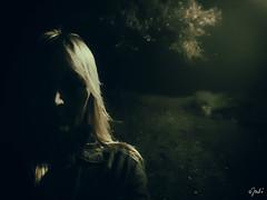 Darkside (JuliSonne) Tags: spooky gespentisch mystisch dunkelheit darkness licht schatten nachtaufnahme wald einsam emotion dark dunkel thrill nervenkitzel