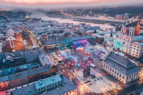 Kaunas Christmas Tree 2019 | Aerial