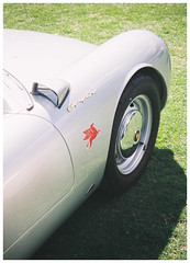550 Spyder (Haig Studios) Tags: porsche spyder 550 classic car automotive deniliquin nsw riverina film 35mm mjuiii olympus fujifilm industrial100 sportscar