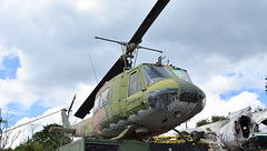 Bell UH-1H Iroquois c/n 11203 Thailand Army serial 6544 (Erwin's photo's) Tags: thailand muek lek army surplus store aviation wrecks relics w r wr aircraft stored bell uh1h iroquois cn 11203 serial 6544