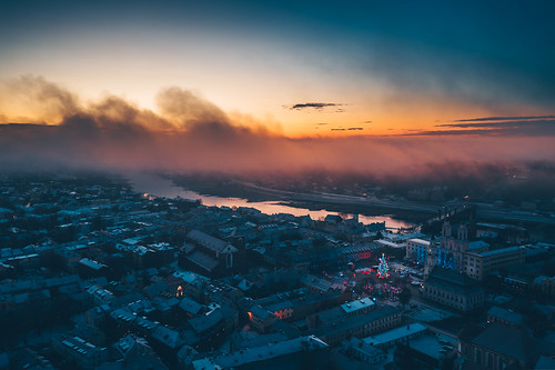 Kaunas Christmas Tree 2019 | Aerial #335/365