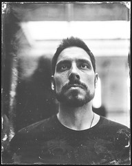 Gy (Attila Pasek (Albums!)) Tags: portrait largeformat collodion ambrotype anniversaryspeedgraphic 4x5 wetplatecollodion graflex