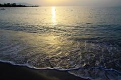 All'Alba...IN EXPLORE Dec 2, 2019 #167 (mirella cotella) Tags: sardinia beach waves colors tones atmosphere mood landscapes seascapes morning dawn sun sea water travel places sunrise exploreddec22019167