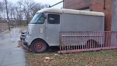 2700 block 26th St NE (waroncars) Tags: oldcars rain ward5dc nedc langdondc trucks