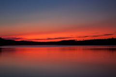 IMG_6603-1 (Andre56154) Tags: schweden sweden sverige sonnenuntergang sunset abendrot afterglow see lake wasser water himmel sky