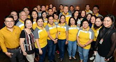 Groufie with the Retiring Bank President (joelCgarcia) Tags: groupshot grouppicture groufie d610 2470mmf28g sb600 cbs aevr