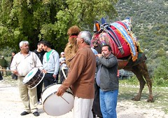Patara, Turkey (east med wanderer) Tags: turkey patara roman annual walk watersupply ancient delikkemer musicians camel worldtrekker