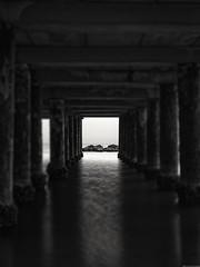 Tunnel of water [Explore 2019.12.02] (Mario Ottaviani Photography) Tags: tunnel water galleria acqua mare pillars pilastri gabicce marche