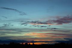 Sonnenuntergang Abendrot 2.11.2019 (rieblinga) Tags: berlin abendrot wolken rathaus lankwitz sonnenuntergang 2112019
