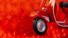 #Red- 7795 (✵ΨᗩSᗰIᘉᗴ HᗴᘉS✵84 000 000 THXS) Tags: red bokeh roue vespa rouge blackandred panasonic panasonicgx9 belgium europa aaa namuroise look photo friends be yasminehens interest eu fr party greatphotographers lanamuroise flickering challenge