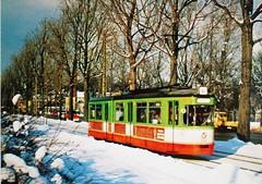 1968 Augsburg (Steenvoorde Leen - 16.3 ml views) Tags: tram tranvia sporvogn straszenbahn raitiovanu trikken bundet tramrails augsburg 1968