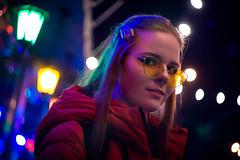 DSC00613ed (kolomiichenko.vladyslav) Tags: girl portrait night photography street streetphotography lights sony sonyalpha helios helios44m2 bokeh viltrox sonya6000