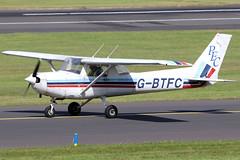 G-BTFC_01 (GH@BHD) Tags: gbtfc cessna cessna150 cessna152 c150 c152 prestwickflyingclub prestwickairport prestwick aircraft aviation