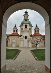 Kostel Panny Marie Vítězné (ondras brabec) Tags: kostel panny marie vítězné bílá hora břevnov praha