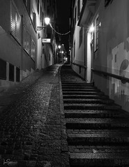 An uphill slog home (ivanstevensphotography) Tags: rain wet path night cobbles steps stairs