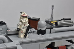 91st (WG Productions) Tags: lego star wars moc scene forest clone trooper dark times rpg 91st woot djillis pinetree pine tree starwars