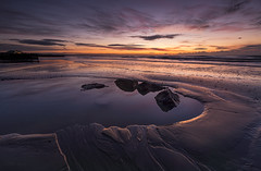 Tide pool (Through Bri`s Lens) Tags: sunrisebeachlow sussex watermirror pool rocks beachphotography brianspicer canon5dmk3 canon1635f4 lee09softgrad