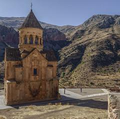 ARMENIA: Noravank 13thC Monastery Complex (desimage) Tags: armenia novavank amaghu monastery church reigioussite sacred sanctuary hidden mountains caucasus desgould 13thcentury armenianorthodox areni