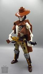 Marko the Undead Cowboy (ϟ Sparks ϟ) Tags: cowboy lego bionicle character ccbs hero factory moc legomoc