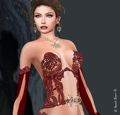 Virtual Trends: Serenity (Anaelah ~ Miss Virtual Diva ♛ 2018) Tags: tiffanydesigns formal gown secondlife sl virtualdiva christmas national coth5 shop maitreya fun fence outside design bar nature blue beauty style shopping jewelry fashion news virtual avatar glamour glamorous sunset anaelstarr photoshop creative butterfly shadows contrast photography fantasy sexy anaelah weather snow puertorico model latinoamerica landscape town modeling flickr newyork 6d 3d people scenery flower artist bright digital texture stars belleza lady natural seascape cute colors catwa event fog sky swank