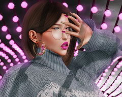 Look-123 (Aghata Darkwatch (Blogger)) Tags: ison gift groupgift free accessories leronso supernatural hoops earrings pumec lips lipstick glasses