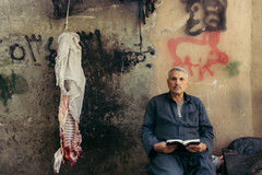 meat me (rick.onorato) Tags: egypt north africa muslim islam cairo man meat