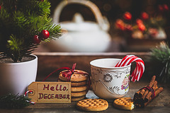 Hello December (Chapter2 Studio) Tags: stilllife sonya7ii holiday chapter2studio classic christmas christmastree cookies spices cinnamon lifestyle light
