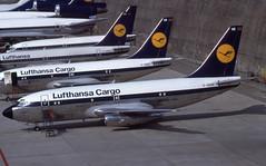 D-ABHE (Lufthansa Cargo) (Steelhead 2010) Tags: lufthansa lufthansacargo boeing b737 b737200 fra dreg dabhe