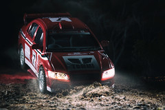Mitsubishi Lancer EVO VII (szadvari.laszlo) Tags: rally rallyart mitsubishi lancer evo evovii wrc car vehicle photo nikon tommi makinen postproduction kinsmart model modell miniature