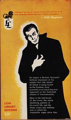 Lion Library LL76 back (Boy de Haas) Tags: vintage paperbacks vintagepaperbacks 1950s fifties shilstone