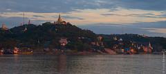 Sagaing Kingdom (yuriye) Tags: sagaing kingdom сагайн сикайн мьянма бирма myanmar burma asia river yuriye yuryelysee irrawaddy irawaddy mandalay мандалай old hill budda buddism kaunghmudaw pagoda pahto paya ирравади киплинг kipling panorama sky morning sunlight
