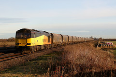 60002 6H12 bolton percy N.R. 02.12.2019 (Dan-Piercy) Tags: gbrf excolas tug class60 60002 naturereserve boltonpercy 6h12 tynedock drax biomass