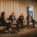 Kurzimpulse und Diskussion - Carolin Roth (Moderation), Klaus Mindrup (SPD), Sylvia Kotting-Uhl (Bündnis 90/Die Grünen) und Ottmar Edenhofer (MCC & PIK)