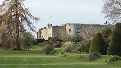 Chirk Castle on a Winter Morning (Sara@Shotley) Tags: chirk castle wales nationaltrust outside gardens park winter
