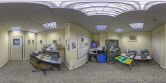 IBM Museum - The RAPC 705 Room - Click to view in 360 (TerryCym) Tags: ibm equirectangular computer hursleyparkhouse 360 vr ptgui photomatix winchester 705