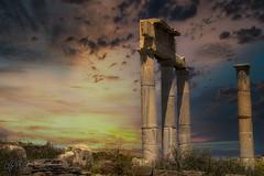 Le temple de Délos_5778-1 (Luc Barré) Tags: grèce temple délos colonnes histoire grec cyclades îles mykonos