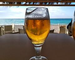 El as de copas (Micheo) Tags: spain cheers copa glass cerveza beer chiringuito laherradura