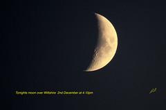 Moon tonight over Wiltshire UK. (Richard Bradshaw1) Tags: moonshot moontonightoverwiltshire ngc