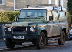 P871 KSF (Nivek.Old.Gold) Tags: 1996 land rover defender 110 tdi county station wagon 2495cc