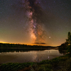 Beaver Pond Milky Way (elink04) Tags: milkyway stars nightsky night longexposure maine space newengland astrophotography astro astroscape nasa tokina tokinafirin sony sonya7s