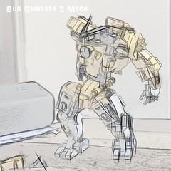 R&D Bug Smasher 3 Mech (Marco Marozzi) Tags: lego legomech legodesign logomecha marco marozzi moc mecha mech robot