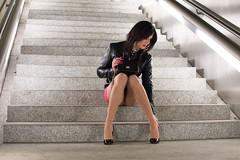 327 (ZoeLinda) Tags: travesti trans transgender transsexual shemale drag dragqueen crossdress crossdresser heels highheels stilettos legs pantyhose nylons pink lindazoe