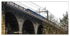 A bit of Mersey Maritime - Part 1 (Jim the Joker) Tags: 66142 class66 dbcargo dbc maritime 6o42 runcorn viaduct widnes freight railway train